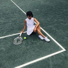 Finished tennis training with @MurphyJensen for @Lacoste #BeautifulTennis