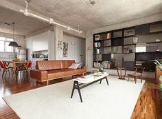 Reforma de apartamento deixa espaços funcionais e modernos