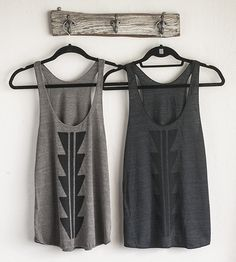 Arrowhead Tank Top | Spread a little geometric joy with this handsome tank top. It'... | Camisoles & Tank Tops