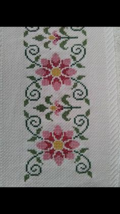 Cross Stitch Letters, Cross Stitch Bookmarks, Cross Stitch Borders, Cross Stitch Rose, Cross Stitch Flowers, Cross Stitch Designs, Cross Stitching, Cross Stitch Embroidery, Embroidery Patterns