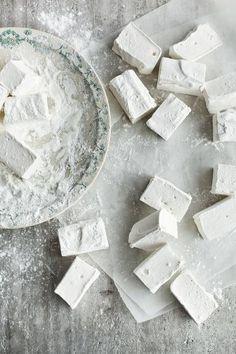 "keroiam: "" Recipe: Elderflower Marshmallows found via here """