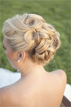 Beautiful wedding updo - Beauty and fashion