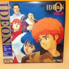 Space Runaway Ideon / Densetsu Kyojin Ideon (TV) vol.3 LaserDisc LD Japan AA246