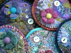 Gorgeousness Coins, Coin Purse, Embroidery, Wallet, Purses, Felting, Bags, Handbags, Handbags