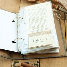 A Charming and Functional Recipe Journal Project - by Somerset Place