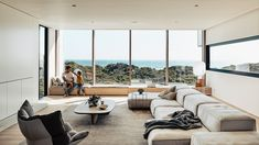 A Luxury Beach House Atop The Sand Dunes In Blairgowrie Chalet Interior, Luxury Interior, Interior Architecture, Interior Design, Portfolio Architect, Modern Architects, Architects Quotes, The Design Files, Open Plan Living