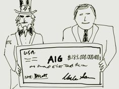 According to AIG and the Treasury Department, we should all be applauding the grand success of the massive bailouts. Find out why we shouldn't: www.marottaonmoney.com/bailing-out-the-boneheads/