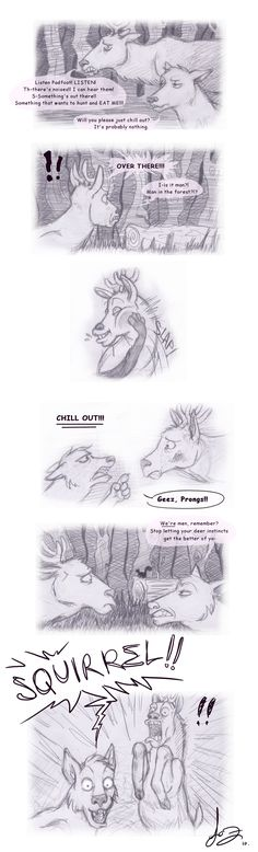 Animagus Instinct. by Alatariel-Amandil.deviantart.com OH MY GOODNESS JAMES' FACE IN THE LAST PANEL