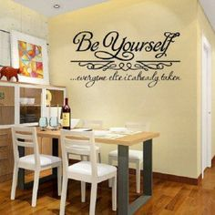 """Get your inspiration daily, with these motivational quotes like, """"Be Yourself, everyone else is taken."""""""
