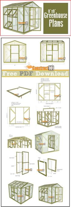 Are you looking garden shed plans? I have here few tips and suggestions on how to create the perfect garden shed plans for you. Diy Projects Greenhouse, Diy Greenhouse Plans, Home Greenhouse, Greenhouse Gardening, Hydroponic Gardening, Garden Projects, Outdoor Greenhouse, Homemade Greenhouse, Wood Projects
