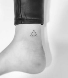 Deathly Hallows Tattoo By Playground Tattoo