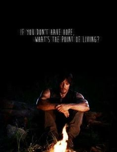 This is Daryl without Beth.. Aw......