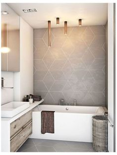 Grey Bathroom Tiles, Grey Bathrooms, Diy Bathroom Decor, Bathroom Interior, Small Bathroom, Bathroom Ideas, Shower Bathroom, Master Bathroom, Bathroom Lighting