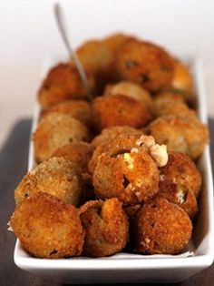 Fried Provolone-Stuffed Olives   OMG I Love To Cook