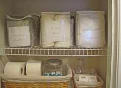 Goodbye, House. Hello, Home! Blog : One Closet Fits All :: The Linen Closet, That Is