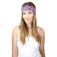 Floral black/pink headband. #style #colorful #headband #fashionista 9thelm.com