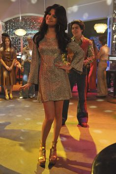 Selena Gomez as Alex Russo on Wizards Of Waverly Place.