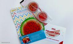 Meloen keer dank voor de juf of meester (+gratis printable) | MoodKids Teacher Appreciation Gifts, Diy Gifts, Diys, Presents, Treats, Fruit, Food, Gifts, Sweet Like Candy