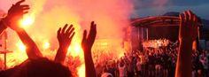 Meisterfeier im Pyro-Licht: Austria Salzburg feiert Auferstehung