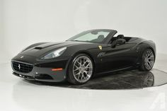 2013 Ferrari California - Wheels Ferrari-Maserati of Fort Lauderdale is thrilled to announce the arrival of this gorgeous 2013 Ferrari California. Finished in Nero Daytona over Nero leather, the California has been carefully driven by only ONE. Ferrari California, Best Cars For Women, Super Sport Cars, Super Car, 488 Gtb, Car Essentials, Exotic Sports Cars, Ferrari 488, Mode Of Transport