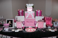 Victoria's Secret Candy Table