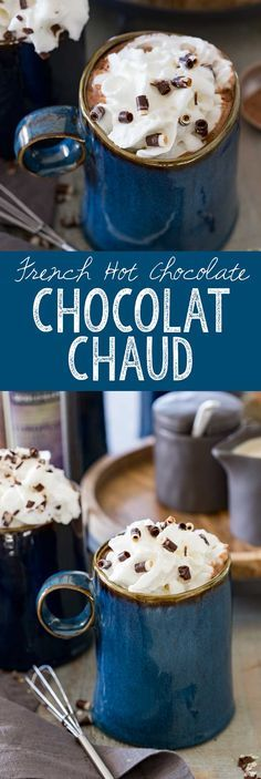 Chocolat Chaud - French Hot Chocolate is a rich, creamy, and delicious hot drink! #fallhomerefresh #worldmarkettribe #ad - Eazy Peazy Mealz