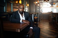Mike Colter, star of 'Marvel's Luke Cage', discusses race, rage and redemption. Comic Book Characters, Comic Books, Mike Colter, Luke Cage Marvel, I Movie, Favorite Tv Shows, Rage, Writer, Cinema