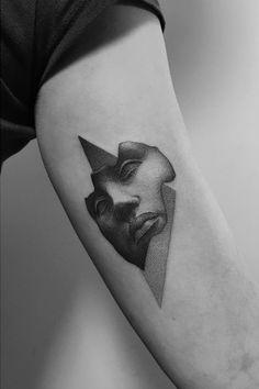 Dotwork tattoo by Pawel Indulski