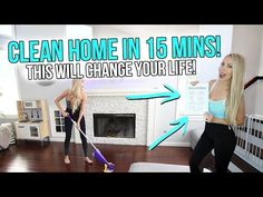 (2) How To Clean Your Home in Only 15 Minutes a Day! (This Will Change Your Life!) - YouTube