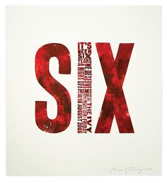 Six - Alan Kitching Typography Design