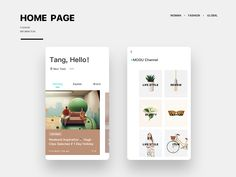 Homepage Mogu by Tang