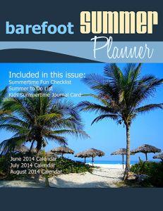Barefoot Summer Planner