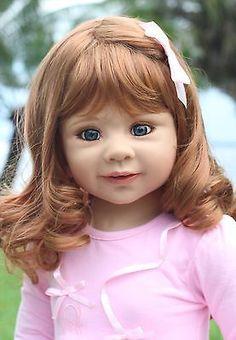 NWT Masterpiece Doll Sabrina RARE SB Blue Eyes By Monika Levenig