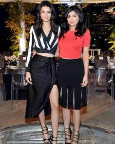Kendall Jenner + Kylie Jenner celebrate the launch of their Neiman Marcus exclusive collection. Photo: Kendall + Kylie