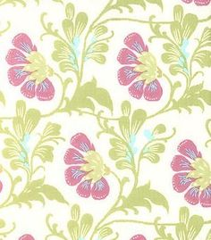 Amy Butler Daisy Chain fabric Sweet Jasmine by JeanniesFabrics, $7.75