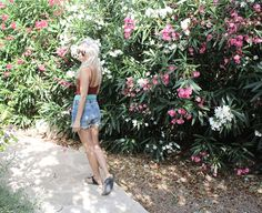 Jeans Shorts, H&M, H&M Trend, Swimsuit, Badeanzug, ootd, Outfit, Look, lotd, Style, Mallorca, Fashion, Summer, Blog, stryleTZ