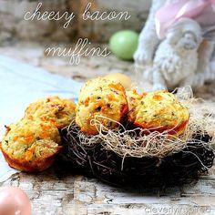 Cheesy Bacon Muffins Recipe!!