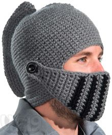 Medieval Knight Hat with removable visor