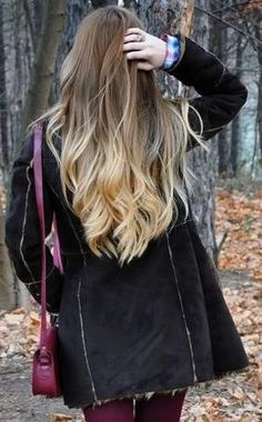 Beautiful healthy hair color is the only way to go.