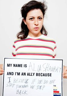 """That Time Alia Shawkat From """"Arrested Development"""" Proposed To Tegan Quin Alia Shawkat, Civil Rights, Feminism, Proposal, Equality, Fans, Action, Celebs, In This Moment"""