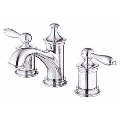 Danze D304010 Prince Two Handle Widespread Lavatory Faucet - Chrome - Faucet Depot