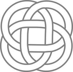 pictures of celtic knots   Kattekrab Celtic Inspired Knots clip art - vector clip art online ...