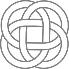 pictures of celtic knots | Kattekrab Celtic Inspired Knots clip art - vector clip art online ...