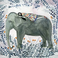 It's Nice That : Yelena Bryksenkova's illustrations are pure pen and watercolour magic