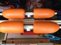 Placed the buoys on the T's.