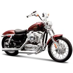 Miniatura Moto Harley-Davidson 2012 XL 1200V Seventy-Two Maisto 1:18 - Machine Cult | A loja das camisetas de carro e moto