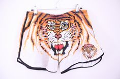 Tiger face shorts