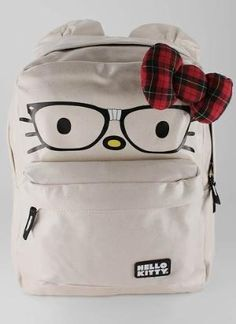 hello kitty and nerd backpack