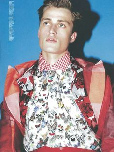 Hero Magazine 'Spring Forward' Editorial 3 - mixed print menswear editorial - http://pinterest.com/arenaint