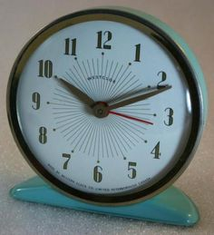 I like finding some of these - made in Peterborough, Ontario - Westclox 1950s America  Alarm clock